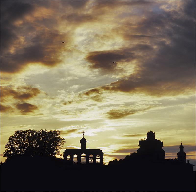 "фото ""Новгород Великий"" метки: пейзаж, путешествия, Европа, закат"
