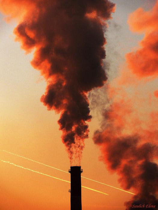 """фото """"дымовуха"""" метки: пейзаж, разное, закат"""