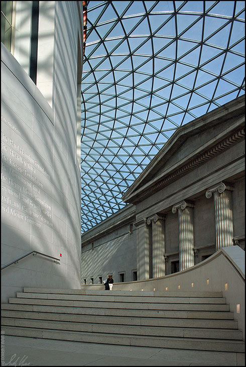 "photo ""London / British Museum"" tags: architecture, interior, landscape,"