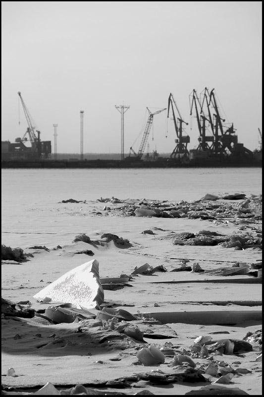 """photo """"Usth-Luga"""" tags: landscape,"""