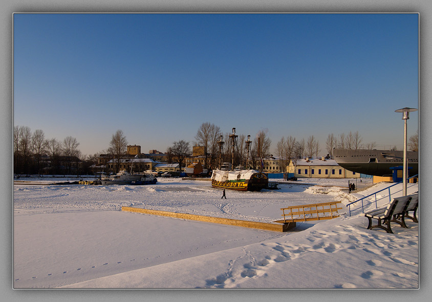 "photo ""At winter stage"" tags: landscape, winter"