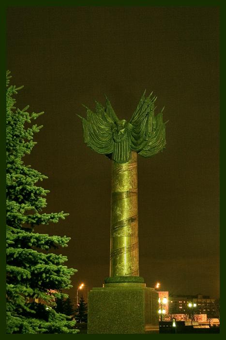 """фото """"Поклонная гора"""" метки: архитектура, пейзаж, ночь"""