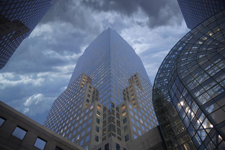"photo ""nyc financial center"" tags: architecture, travel, landscape, North America"