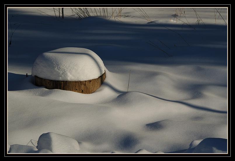 """фото """"Шапка"""" метки: пейзаж, природа, зима"""