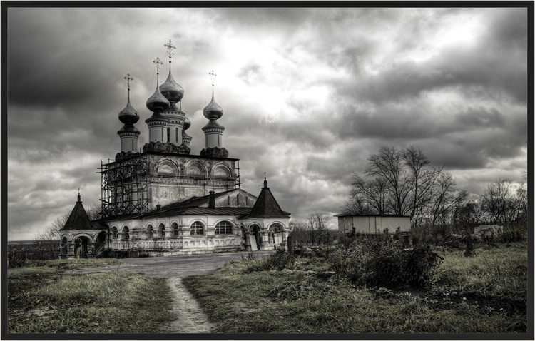 """фото """"Холодное Воскресение Октября II"""" метки: архитектура, пейзаж, осень"""