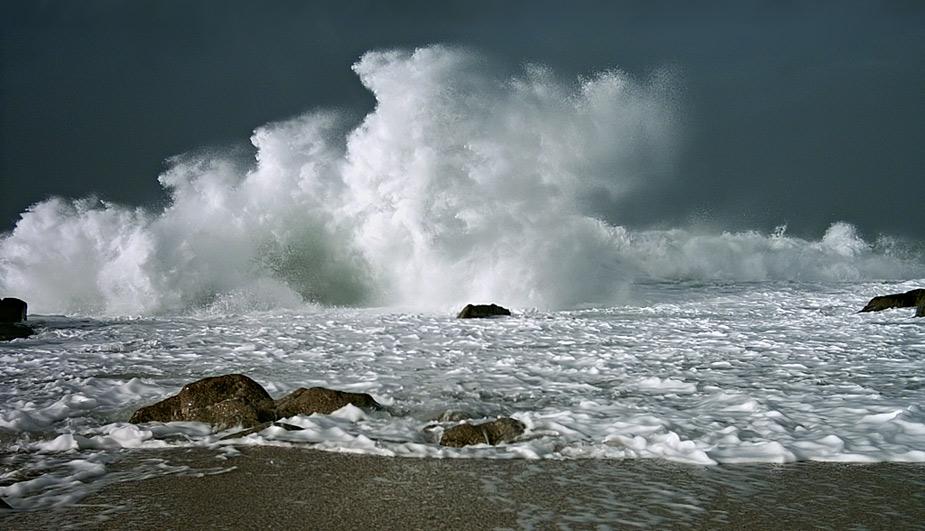 "фото ""Sea Cloud 2"" метки: пейзаж, вода, зима"