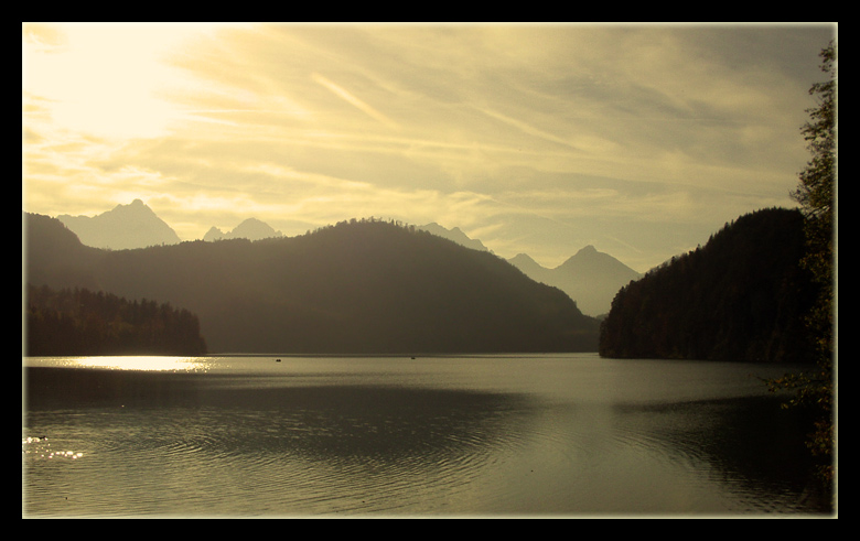 "photo ""mystic lake"" tags: landscape, mountains"