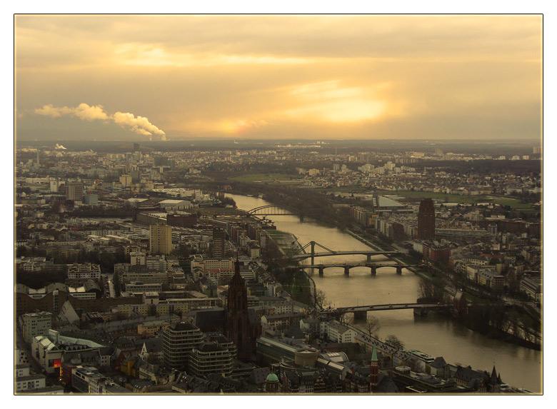 "фото ""frankfurt from the top"" метки: пейзаж, путешествия,"