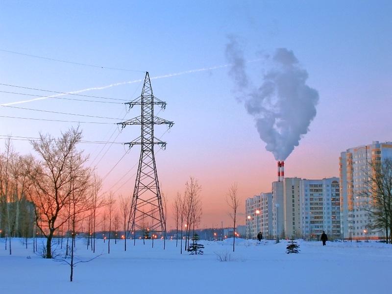 """фото """"Спальный район  (2)"""" метки: архитектура, пейзаж, зима"""