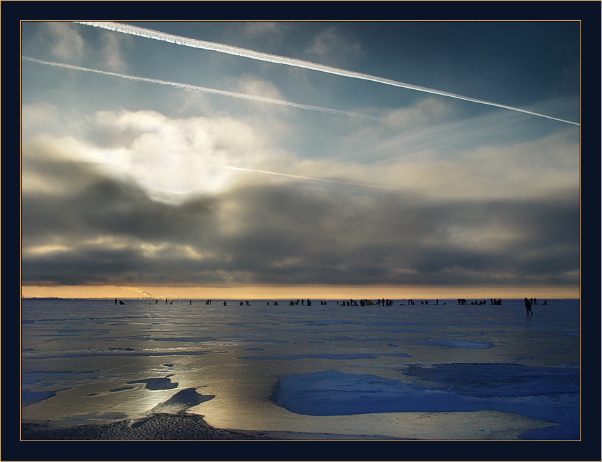 """фото """"Льдина на Хельсинки уходит в 15.00"""" метки: пейзаж, зима"""
