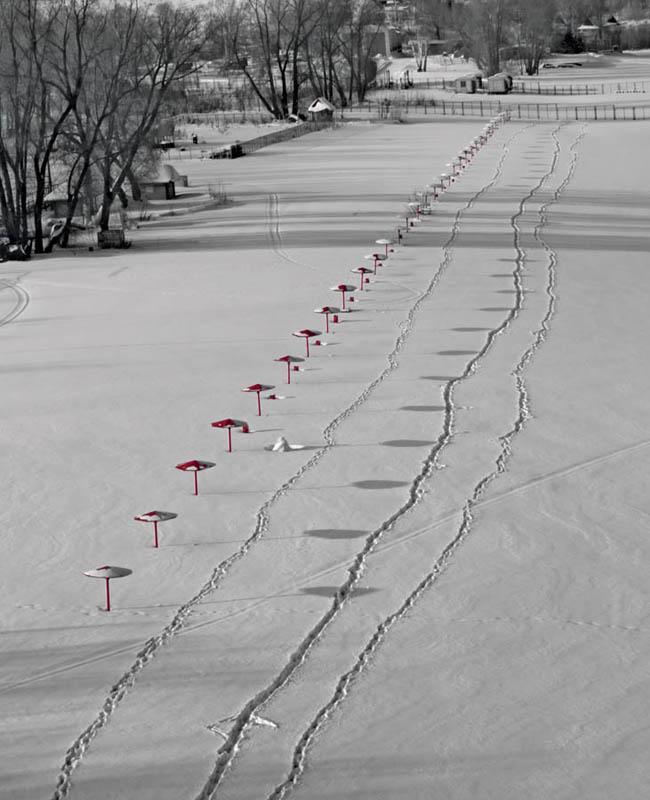 """фото """"Зимний пляж"""" метки: пейзаж, зима"""