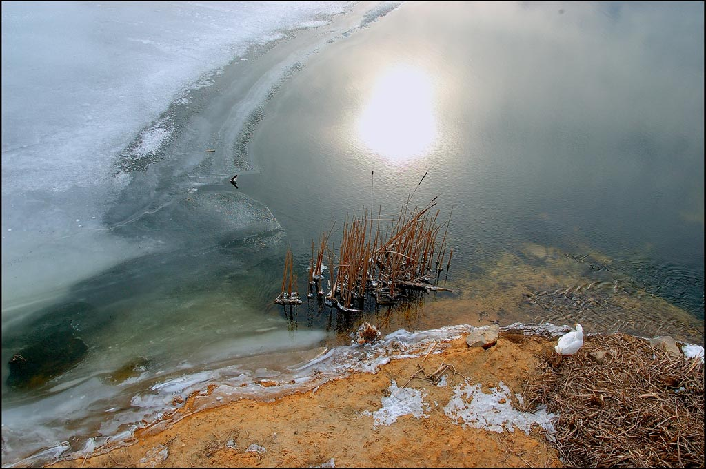 "photo ""Almost spring. 14 below zero"" tags: landscape, water, winter"