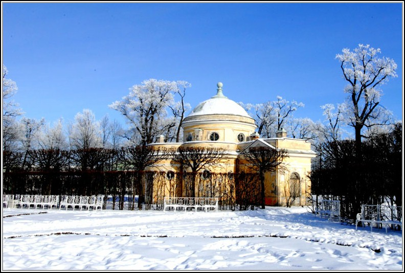 "фото ""павильон и зимние скамейки"" метки: архитектура, пейзаж,"