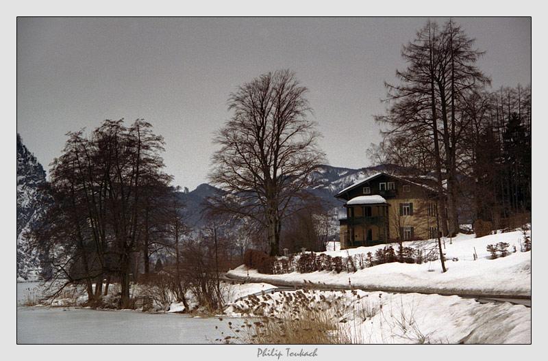 """фото """"Дом на краю"""" метки: пейзаж, зима"""