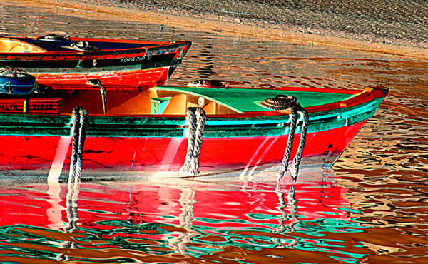 "photo ""COLOURFUL SHADOWS"" tags: landscape, water"