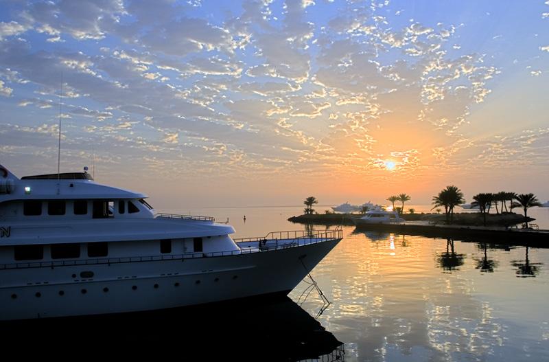 """фото """"Египетский рассвет"""" метки: путешествия, пейзаж, Африка, вода"""