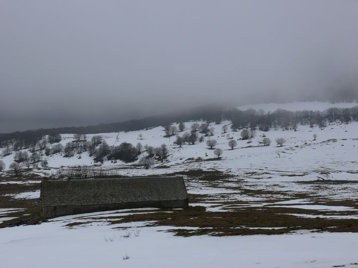 "photo ""Aubrac"" tags: landscape, nature, winter"