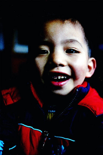 "photo ""nephew with decayed teeth"" tags: portrait, children"