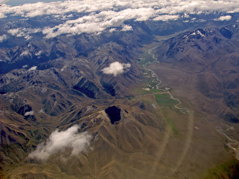 "photo ""Altitude 25000 ft"" tags: landscape, mountains"