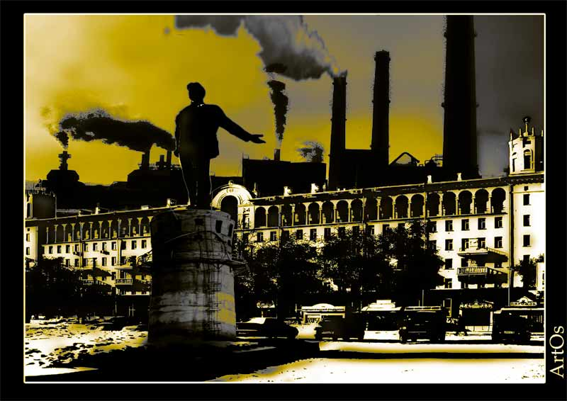 """фото """"Мрачный Пейзаж"""" метки: ,"""