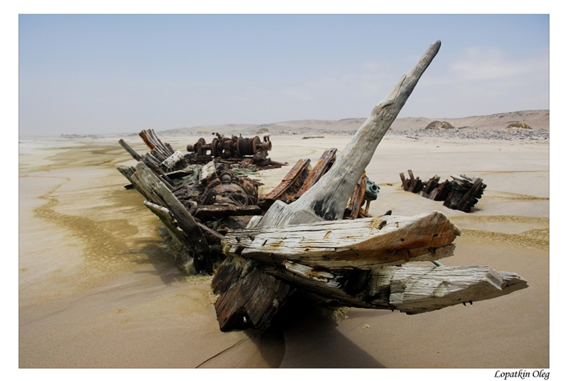 "photo ""On Sceleton coast NP"" tags: travel, Africa"