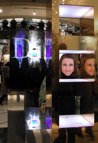 """фото """"Портрет на фоне Dior."""" метки: абстракция, юмор,"""