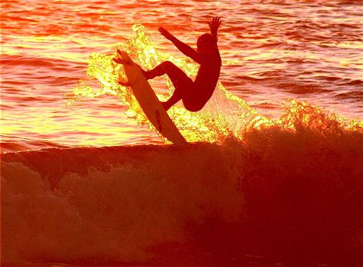 """фото """"surfer gets air"""" метки: спорт,"""