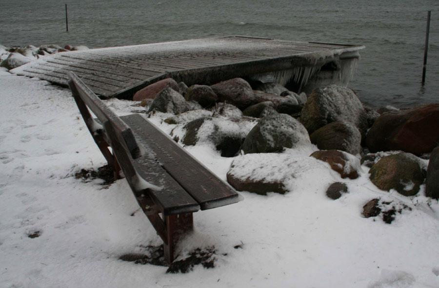 """фото """"Cold day"""" метки: пейзаж, вода, зима"""
