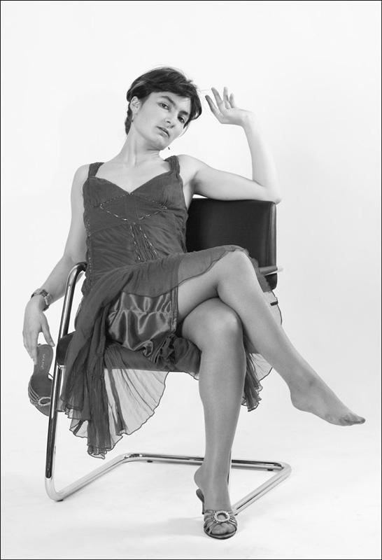 "фото ""На отдыхе"" метки: черно-белые, портрет, женщина"