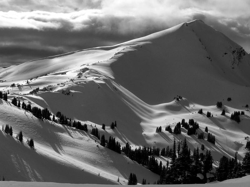 """фото """"Eldorado Valley"""" метки: пейзаж, горы, зима"""