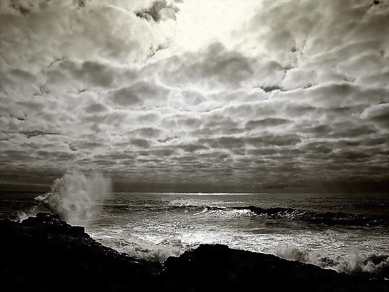 """фото """"Between  sky and the see..."""" метки: пейзаж, вода"""