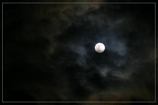 """фото """"Full Moon"""" метки: пейзаж, закат"""