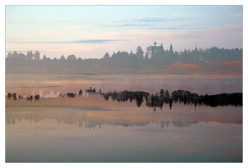"""фото """"Северные дремы."""" метки: пейзаж, абстракция, лето"""