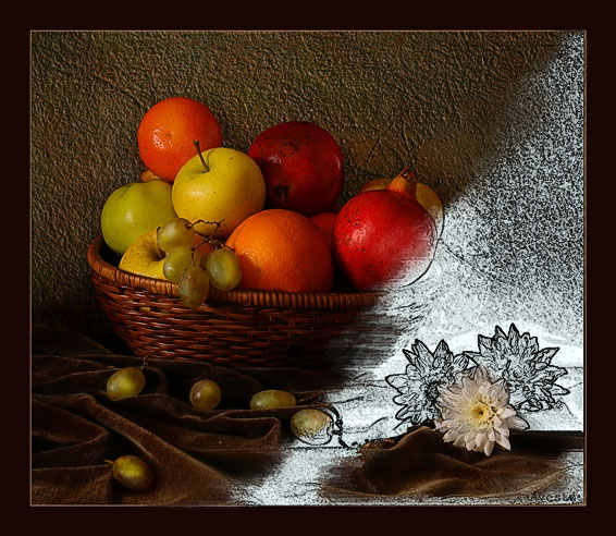 "photo ""Not finished still-life"" tags: montage,"