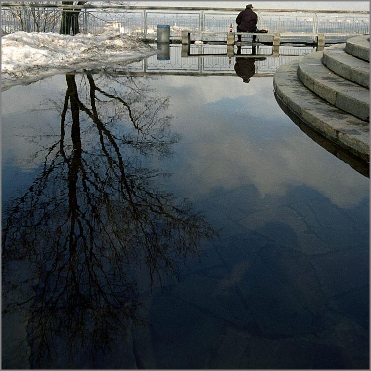 """фото """"Весенний мотив"""" метки: пейзаж, весна, вода"""