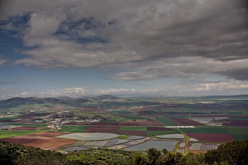 "фото ""Israel from the bird's flight"" метки: пейзаж, весна"