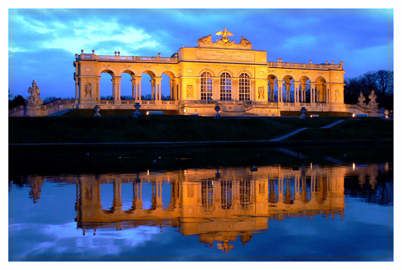 """фото """"Gloriette Vienna"""" метки: архитектура, пейзаж,"""