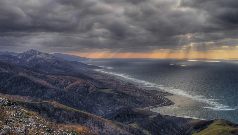 "photo ""Sakhalin"" tags: landscape, autumn, mountains"