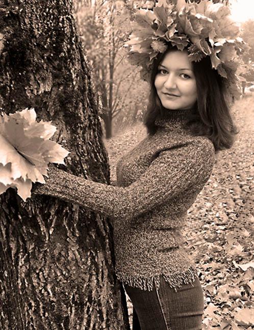 """фото """"Осенняя"""" метки: портрет, женщина"""