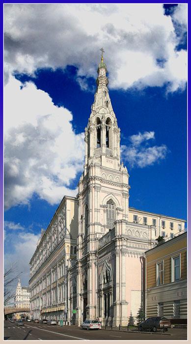 """фото """"Устремление к Богу (Софийский собор)."""" метки: архитектура, пейзаж,"""