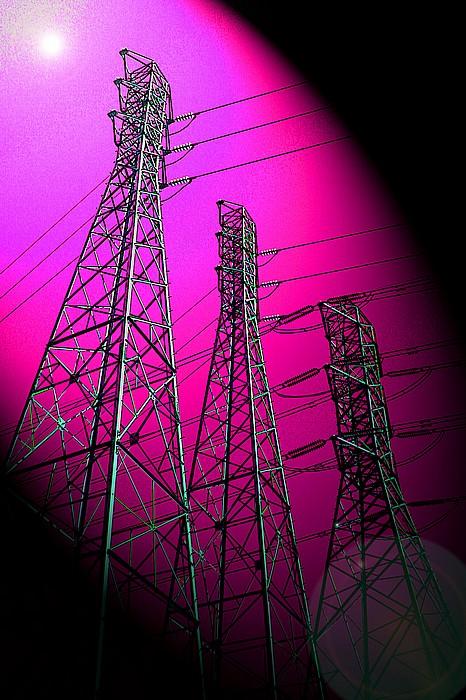 "фото ""Power To The Purple"" метки: пейзаж, фотомонтаж,"