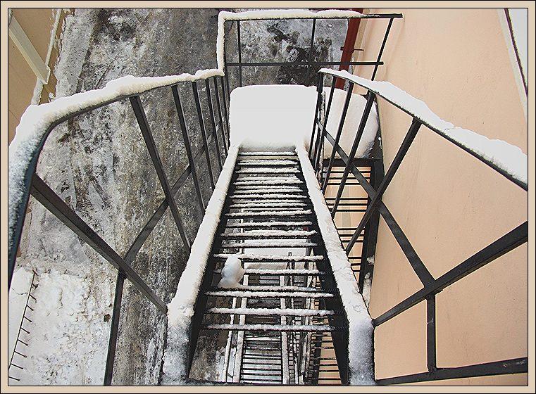 """фото """"геометрия стали и снега"""" метки: архитектура, техника, пейзаж,"""