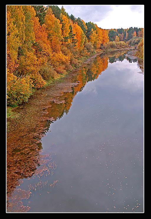 """фото """"Осенний берег"""" метки: пейзаж, природа, осень"""