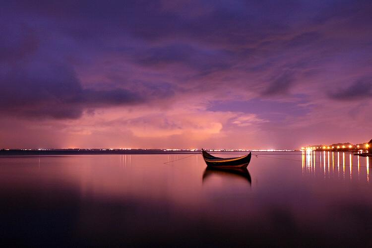 """фото """"Quiet night"""" метки: пейзаж, путешествия, Европа, ночь"""