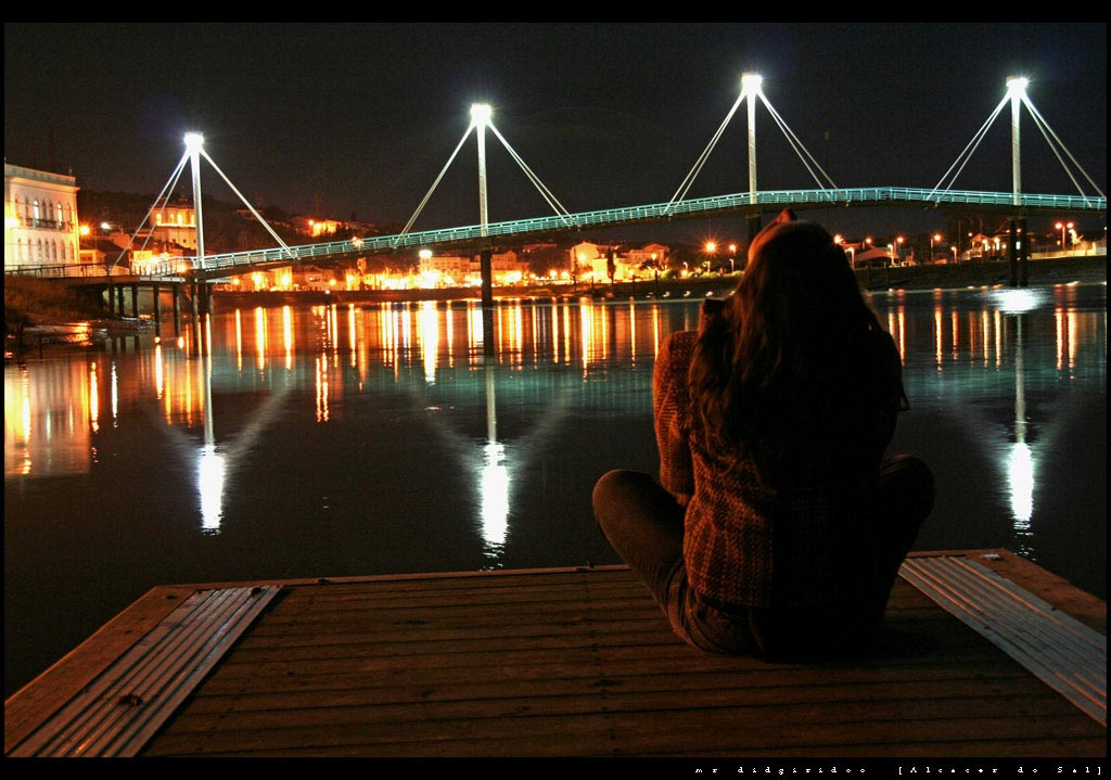 """фото """"Sado by night"""" метки: пейзаж, вода"""