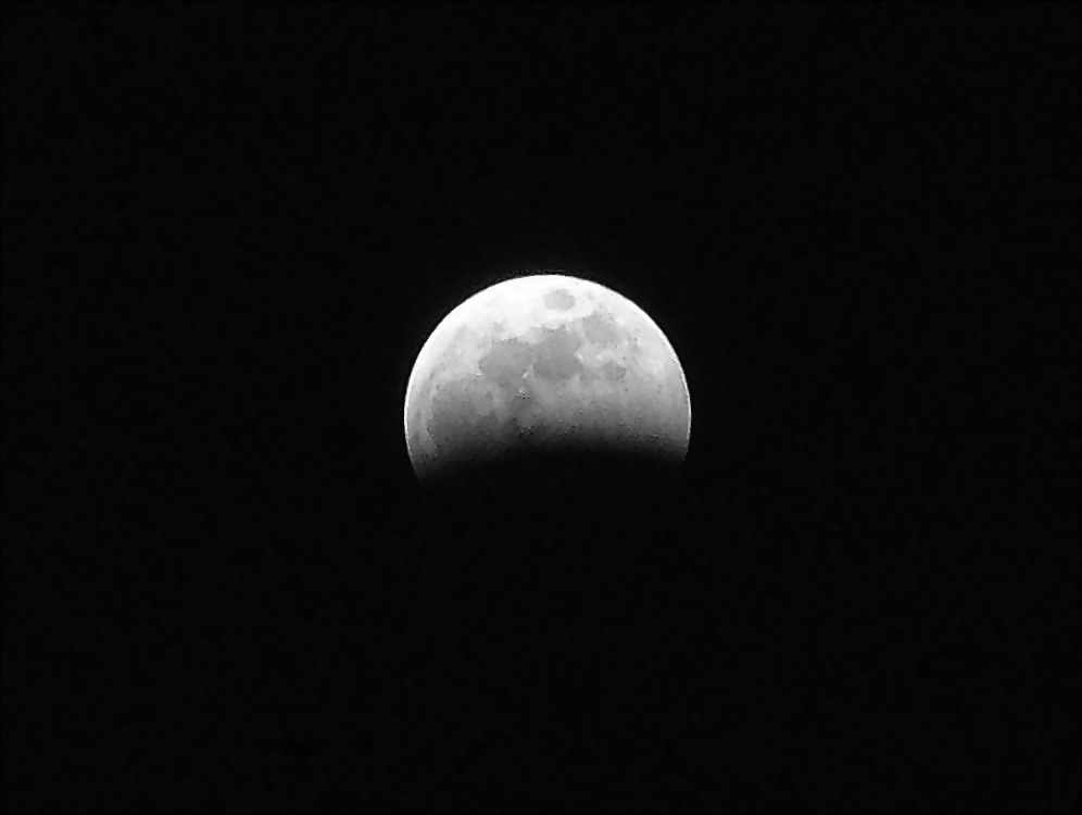 """фото """"Eclipse in B/W"""" метки: природа, пейзаж, ночь"""