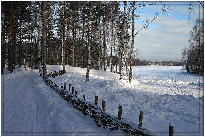 """фото """"Уходящая зима"""" метки: пейзаж, зима"""