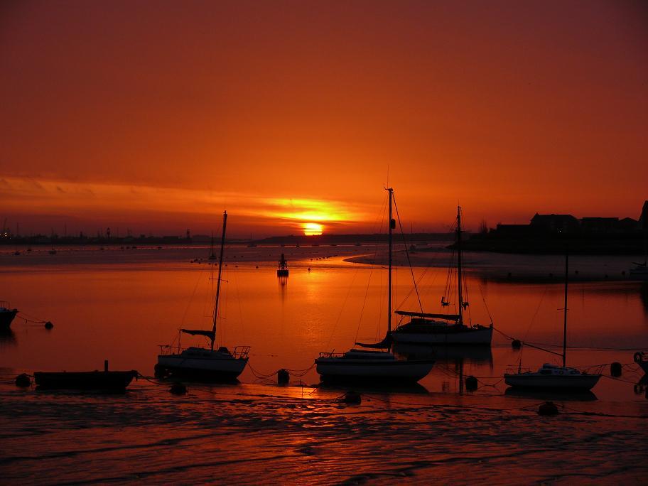 """photo """"Sunrise ...."""" tags: landscape, sunset"""