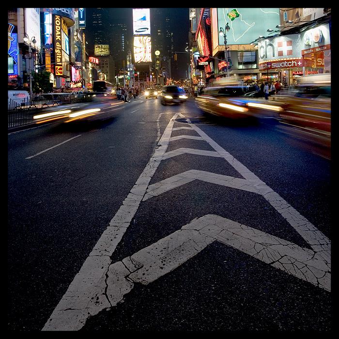 """фото """"Dividing New York"""" метки: путешествия, пейзаж, Северная Америка, ночь"""