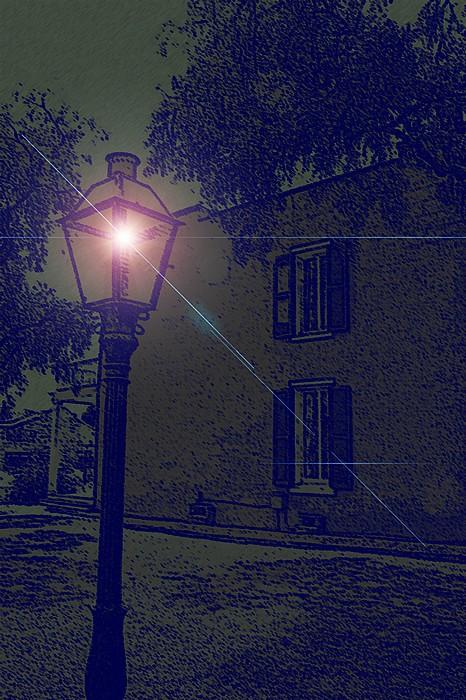 """фото """"Streetlight"""" метки: пейзаж, фотомонтаж,"""